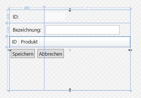 Entwurf der Kategoriedetail-Seite