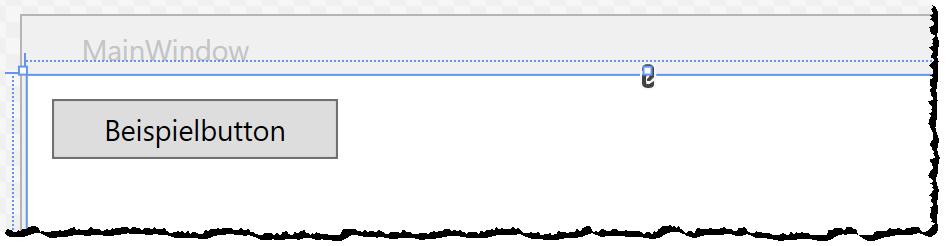 Button mit einfachem Text