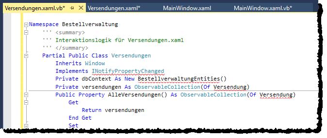 Fehler in der Datei Verwendungen.xaml.vb