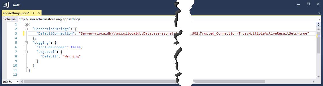 Ändern des Datenbanknamens in der Verbindungszeichenfolge