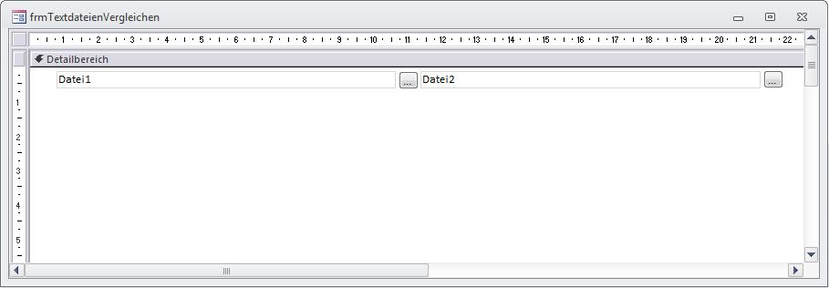 Textfelder zum Erfassen der Dateinamen