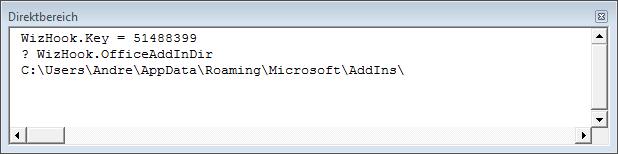 Ermitteln des Add-In-Verzeichnisses von Access