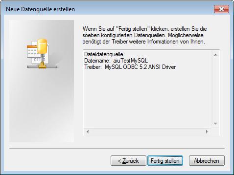 Zusammenfassung der Dateidatenquelle