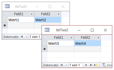 Import zweier Sheets in zwei Tabellen