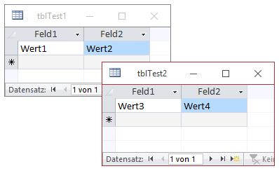 Import zweier Sheets in zwei Tabellen