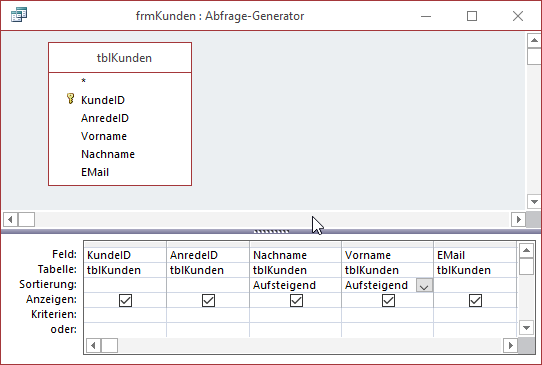 Datenherkunft des Kunden-Formulars